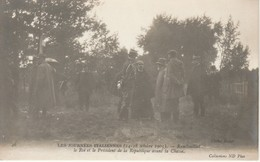 78 Rambouillet Les Journées Italiennes (14 18octobre 1903)  Le Roi Et Le Président De La République Avant La Chasse - Rambouillet