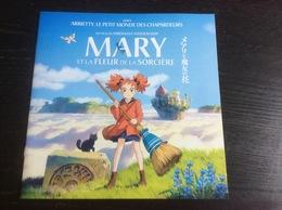 Plaquette 16 Pages : Mary & La Fleur De La Sorcière, Yonebayashi (10 Pages De Jeux Pour Enfants) - Merchandising