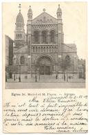 ANVERS 1903 Eglise St. Michel Et St. Pierre- (REBECQ 3 DECE 1903 Timbre QUENAST 5x1c) - Cpa - Antwerpen