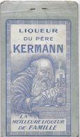CARNET PUBLICITAIRE PUBLICITÉ LIQUEUR DU PÈRE KERMANN  LIQUEURS CAZANOVE RHUM BLACK IMP. DUBERGA BORDEAUX - Other