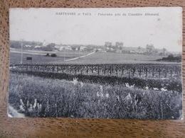 D 02 - Hartennes Et Taux - Panorama Pris Du Cimetière Allemand - France