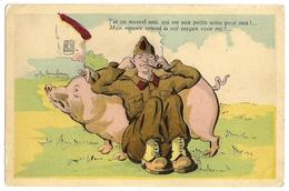 Sint-MARIABURG België Mijn Nieuwe Vriend Is Vol Zorgen Voor Mij ! (1945 Timbre 50c 12-5-45 MARIABURG) Humoristique - Cpa - Brasschaat