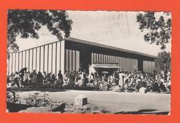 ET/147 AFRIQUE BURKINA FASO OUAGADOUGOU LE MARCHE / écrite Timbre Cacher Poste 1965 - Burkina Faso