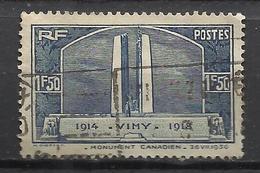 5290-FRANCIA SELLO ANTIGUO 1936 TRENES FERROCARRIL RAIL WAY Nº317 VALOR 10,00€ - France