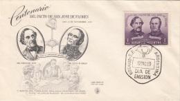 """ARGENTINIEN 1959 - FDC Brief """"Del Pacto De San Jose De Flores"""" - FDC"""