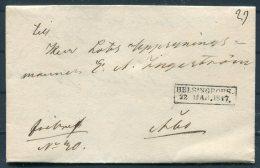 1847 Finland Helsingfors Entire - Abo - Finland