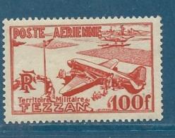 Fezzan , Occupation Française  , Aérie,  Yvert N° 4 ** -  Bce 12306 - Fezzan & Ghadames