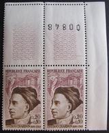 LOT 1653 - 1962 - (PAIRE) N°1346 COIN DE FEUILLE NEUF** - Cote : 6,00 € - France