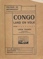 CONGO Land En Volk - Louis Franck - Antique