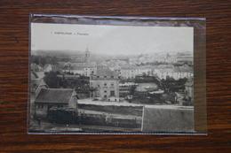 Martelange, Panorama (à L'avant Plan : Wagons Et Gare Station Tram Vicinal De Bastogne Arlon) - Martelange