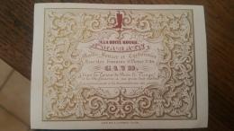 Carte Porcelaine (Porseleinkaart) - Gand (Gent) - A La Botte Rouge - A. Marain - Maitre Bottier Et Cordonnier - Gent