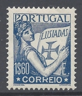PORTUGAL 1931 LUSIADAS Nº 543A - 1910-... République