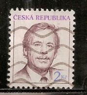 TCHEQUIE  N°   3     OBLITERE - Tschechische Republik