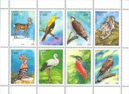 Kyrgyzstan 1998 Mih. 139/46 Fauna. Animals And Birds MNH ** - Kirghizistan