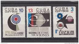 Cuba Nº 1075 Al 1077 - Cuba