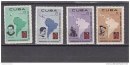 Cuba Nº 1129 Al 1132 - Cuba