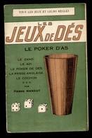 Les JEUX De DES - Tous Les Jeux Et Leurs Règles Par Pierre MANAUT - Palour Games