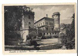 MASIO ALESSANDRIA CASTELLO DI REDABUE VIAGGIATA FG - Alessandria