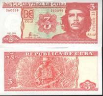 Cuba 3 Pesos 2004 Che Guevarra - Cuba