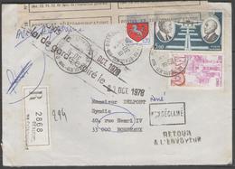 REC. De 1978 Tombé En Rebut (cachet Au Verso) - 1961-....