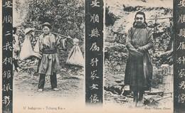 "INDIGENES "" TCHONG KIA "" - BELLE CARTE - MULTIVUES - - China"