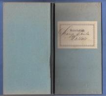 ARBEITSBUCH Aus ST.STEFAN A.G., Bez.Graz, Ausgestellt 1907, 80 Seiten, Handschriftliche Eintragungen Und Stempel 1907 .. - Historical Documents