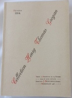 Catalogue Collection Henry Thomas Grogan , Vente à Amsterdam 1914 , Edition 1973 - Libri & Software