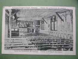 GIESSEN - Inseres Des Kirchesaales Der Franzosen - Eglise Du Camp De Prisonniers De Guerre - Cachets - Vitry-le-François - Giessen