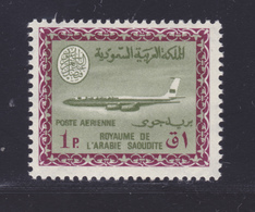 ARABIE SAOUDITE AERIENS N°   83 ** MNH Neuf Sans Charnière, Filigrane B, TB (D7118) Avion Boeing 720B - Arabie Saoudite