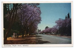 RHODESIA (ZIMBABWE) - JACARANDAS, MOFFAT STREET, SALISBURY - Zimbabwe