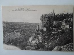 LOT      Rocamadour   Rocamadour    Vu De L'Hospitalet   Côté Nord - Rocamadour