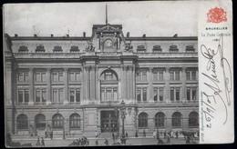 Bruxelles : La Poste Centrale - Monuments, édifices