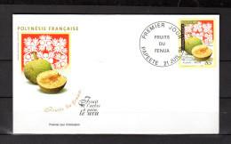 """Enveloppe 1er Jour De 1999 """" FRUIT DE L'ARBRE A PAIN : URU / PAPEETE"""" N° YT 588. Parfait état. FDC - FDC"""
