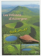 {70701} 63 Puy De Dôme Les Volcans D' Auvergne , Multivues ; Puy De Dôme Puy De Pariou Gour De Tazemat Puy De Côme - Auvergne