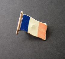 Vintage France Flag Badge - Athletics