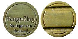 01139 GETTONE JETON TOKEN SPORT EQUIPMENT MACHINE RANGE KING - Pays-Bas