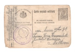 00602 Feldpost Carte Postala Militaria - 1881-1918: Charles I