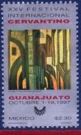 Ref. MX-2062 MEXICO 1997 - CERVANTES FESTIVAL 45TH, ANNIV., MODERN ART - MI# 2668 - MINT MNH, ART 1V Sc# 2062 - Moderni