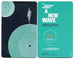 Merdien Hotels, Used Contactless Hotel Room Key Card # Meridien-37 - Hotel Keycards