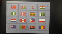 MALI 1999 DRAPEAUX FLAGS FLAG NAMIBIA NORWAY PAKISTAN NEDERLAND NETHERLANDS PERU PHILIPPINES PORTOGAL POLAND MNH - Mali (1959-...)