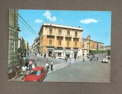 MATERA PIAZZA VITTORIO VENETO ANIMATA  CARTOLINA VIAGGIATA 1971 - Matera