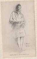 8AK901 E ALLUAUD GUERRE 1914 HIGHLANDER BLESSE  2 Scans - Illustrators & Photographers