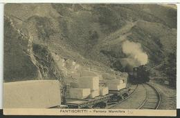 FANTISCRITTI (Carrara): Ferrovia Marmifera - Carrara