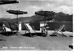 NOVARA-GHIFFA-TERRAZZA DELLA CASA DI CURE-1954 - Novara