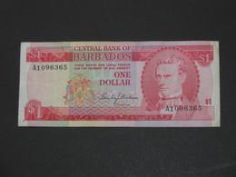 1 One Dollar 1973 Barbades - Centrla Bank Of Barbados  **** EN  ACHAT IMMEDIAT  **** - Barbades