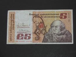 5 Five Pound 1992 - IRLANDE - Provincial Bank Of Ireland Limited    **** EN  ACHAT IMMEDIAT  **** - Irlande