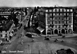 UDINE-PIAZZALE OSOPPO-1958-AUTOBUS - Udine