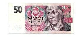 Banconota  Da 50  KORUN    REPUBBLICA  CECA  - ANNO / 1997. - Repubblica Ceca