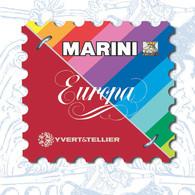 AGGIORNAMENTO MARINI VERS EUROPA - SAN MARINO - ANNO 2009  -  NUOVI - SPECIAL PRICE - Contenitore Per Francobolli