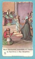 ED. GN - NR. 159 - PRESENTAZIONE DI M.V. AL TEMPIO  - Mm 57 X 102 (circa) - E - LATI ZIGRINATI - Religione & Esoterismo